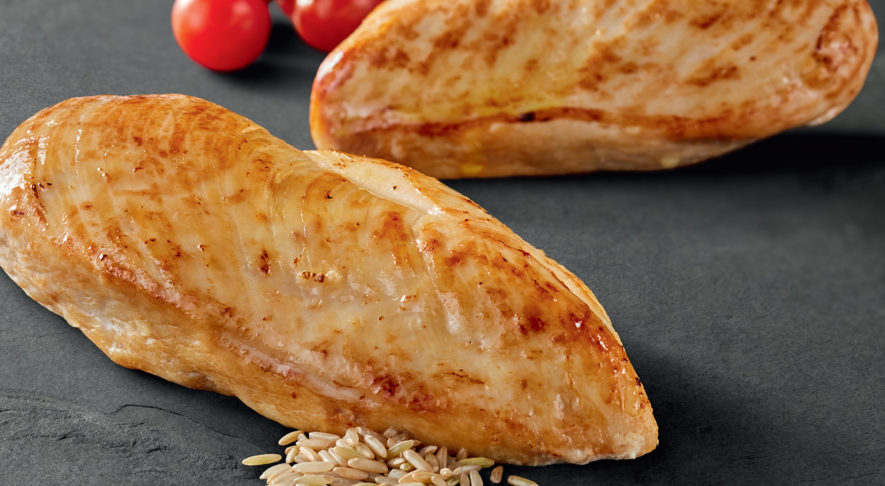 Image of chicken and brown rice