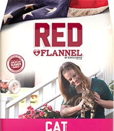 Image of Red Flannel® All Ages Cat Formula Cat Food bag